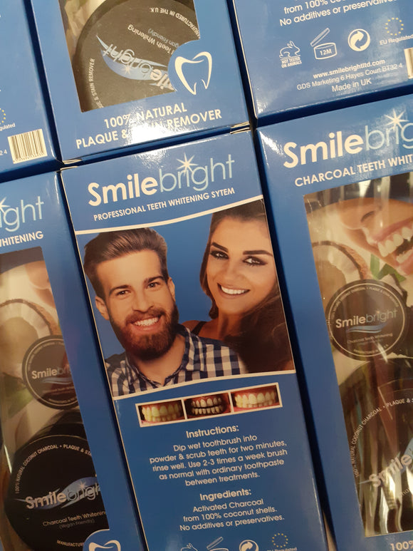Smilebright Charcoal  Teeth Whitening