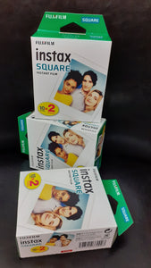 FUJIFILM INSTAX SQUARE INSTANT FILM TWIN PACK 20