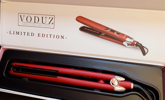 VODUZ ORIGINAL STYLER/ STRAIGHTENER LIMITED EDITION RED