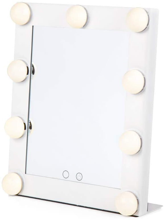 CARMEN HOLLYWOOD MIRROR 9 LED BULBS