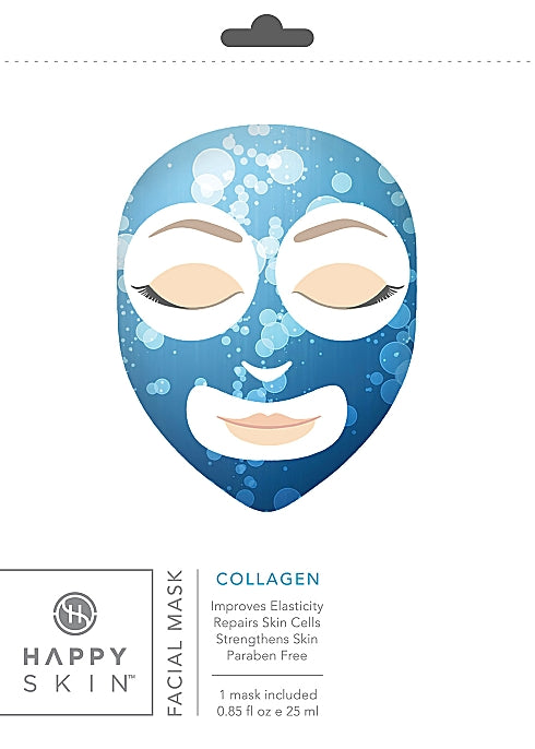Happy Skin Facial Sheet Mask Collagen 3 FOR 2 OFFER