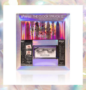 BPerfect The Clock Struck 12 Gift Set | Eyeshadow, Lashes, Mascara, Prime & Base | LA Image