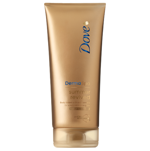 Dove DermaSpa Summer Revived Tan Lotion Medium/Dark | LA Image