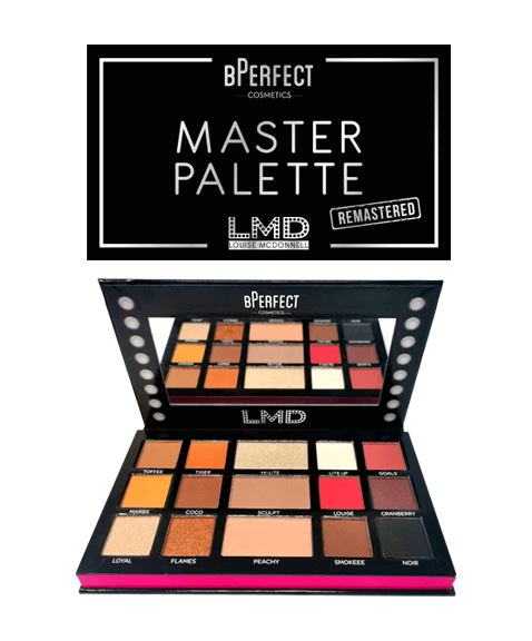 bPerfect LMD Remastered Eye Shadow Palette | LA Image