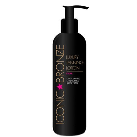 Iconic Bronze Luxury Tanning Lotion Dark 200ml