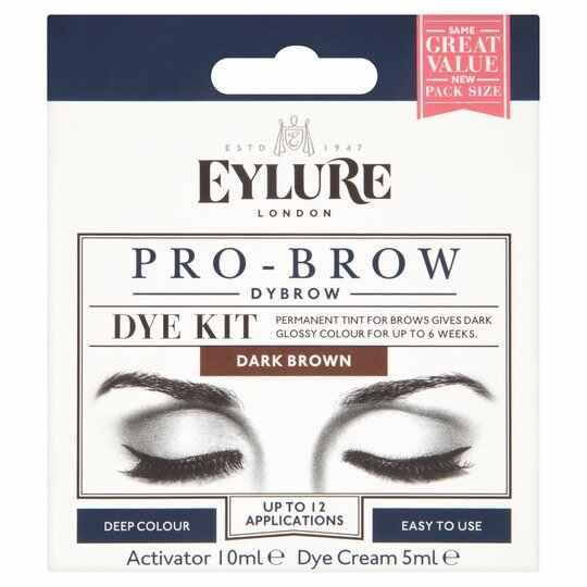 EYLURE Dybrow Dark Brown Dye Kit
