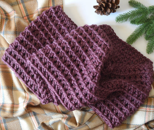 Knitted Women's Chunky Infinity Scarf | THE ELLY