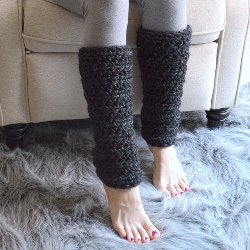 Chunky Knitted Women's Woolen Leg Warmers | THE WARMIES