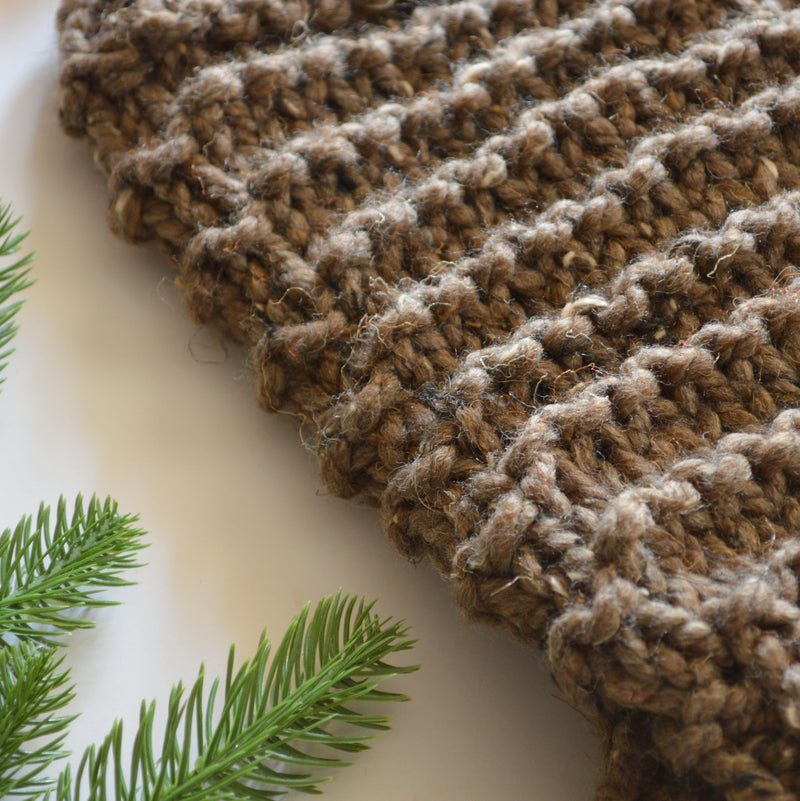 Chunky Knitted Woolen Leg Warmers | THE CUSHIES