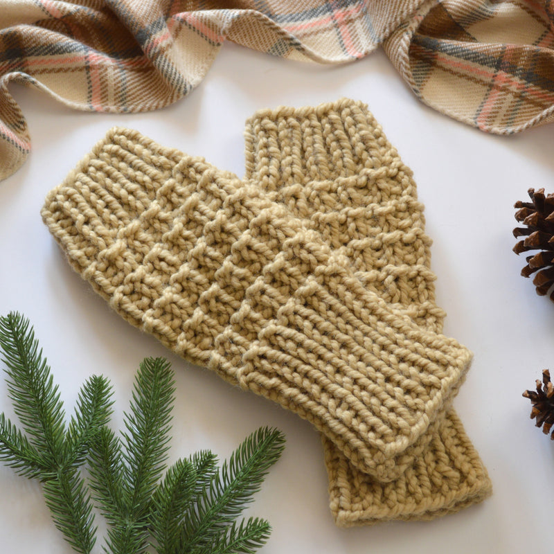 Chunky Knit Woolen Leg Warmers | THE SOFTIES