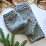 Knit Chunky Woolen Leg Warmers | THE CUDDLES