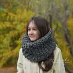 Knit Chunky Winter Woolen Cowl Neck Warmer Scarf | THE MEMPHIS