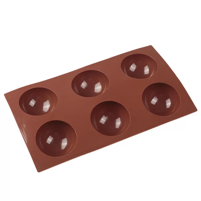 Hot Chocolate Bomb Sphere Silicone Mould