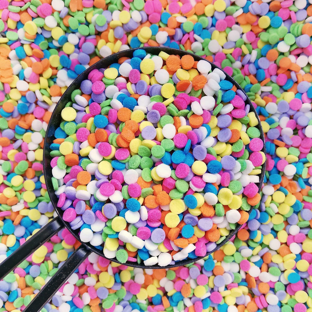 Mini Pastel Rainbow Sequins