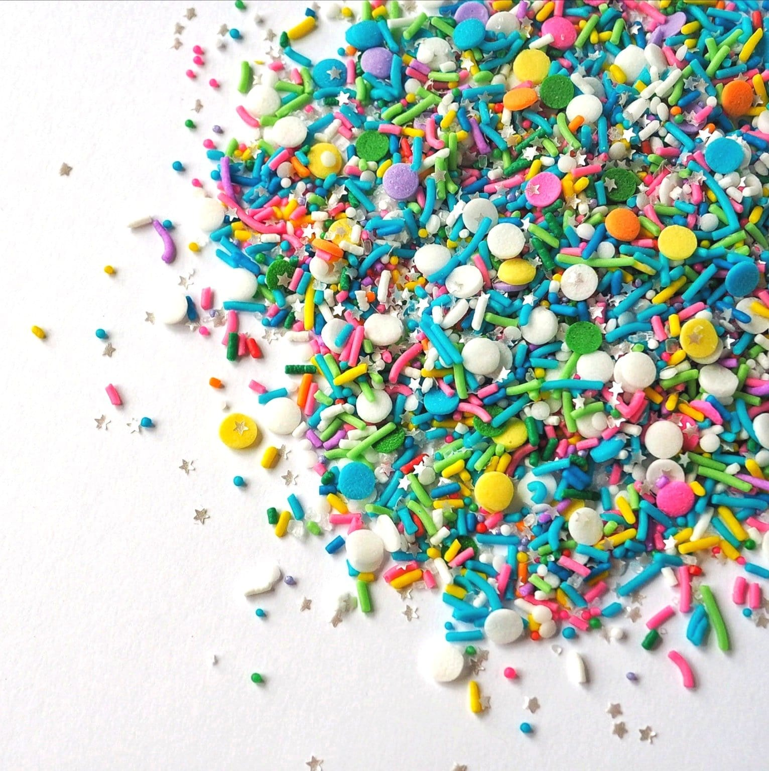 Sugar Lips Party Cannon sprinkle mix, vegan and gluten free rainbow sprinkles