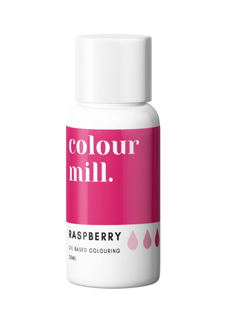 Colour Mill Oil Based Colouring 20ml Raspberry