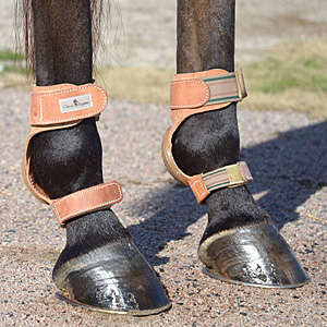 Classic Equine Leather Skid Boot