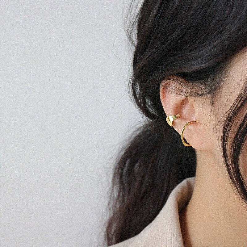 Earrings - Luxurious clip - Minimal Paris
