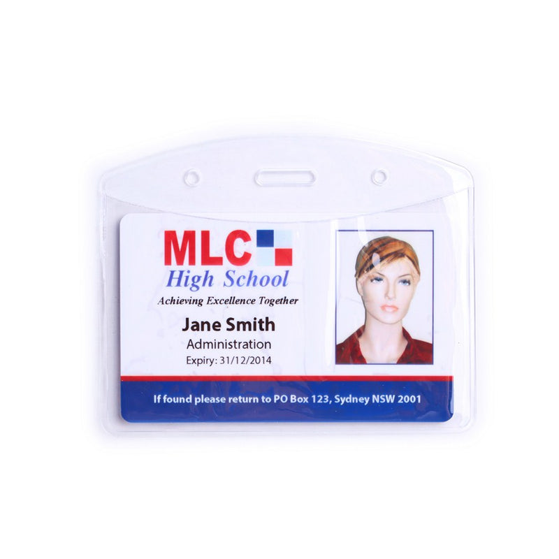 Flexible ID Card Holder (Pack of 100)