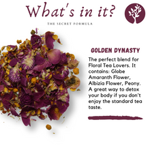 Load image into Gallery viewer, Golden Dynasty Detox Tea - Healthy Sage