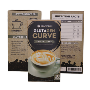 Glutagen Curve Cafe Latte Mix - Healthy Sage