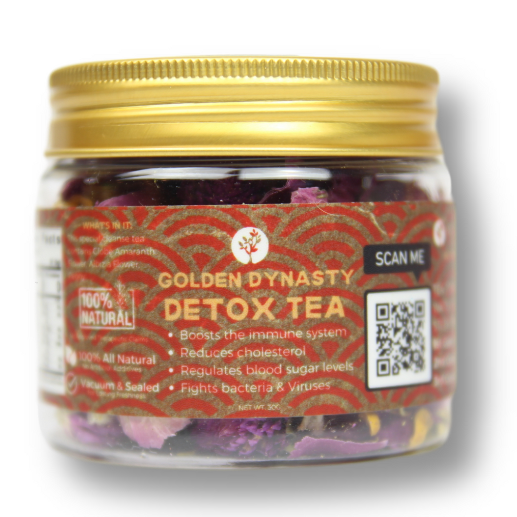 Golden Dynasty Detox Tea - Healthy Sage