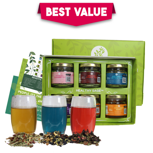 30-Day Teatox Package - Healthy Sage