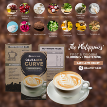 Load image into Gallery viewer, Glutagen Curve Cafe Latte Mix - Healthy Sage