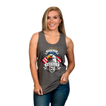 God Bless America Eagle Tank Tops