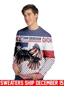 Limited Edition America The Bold Holiday Sweater