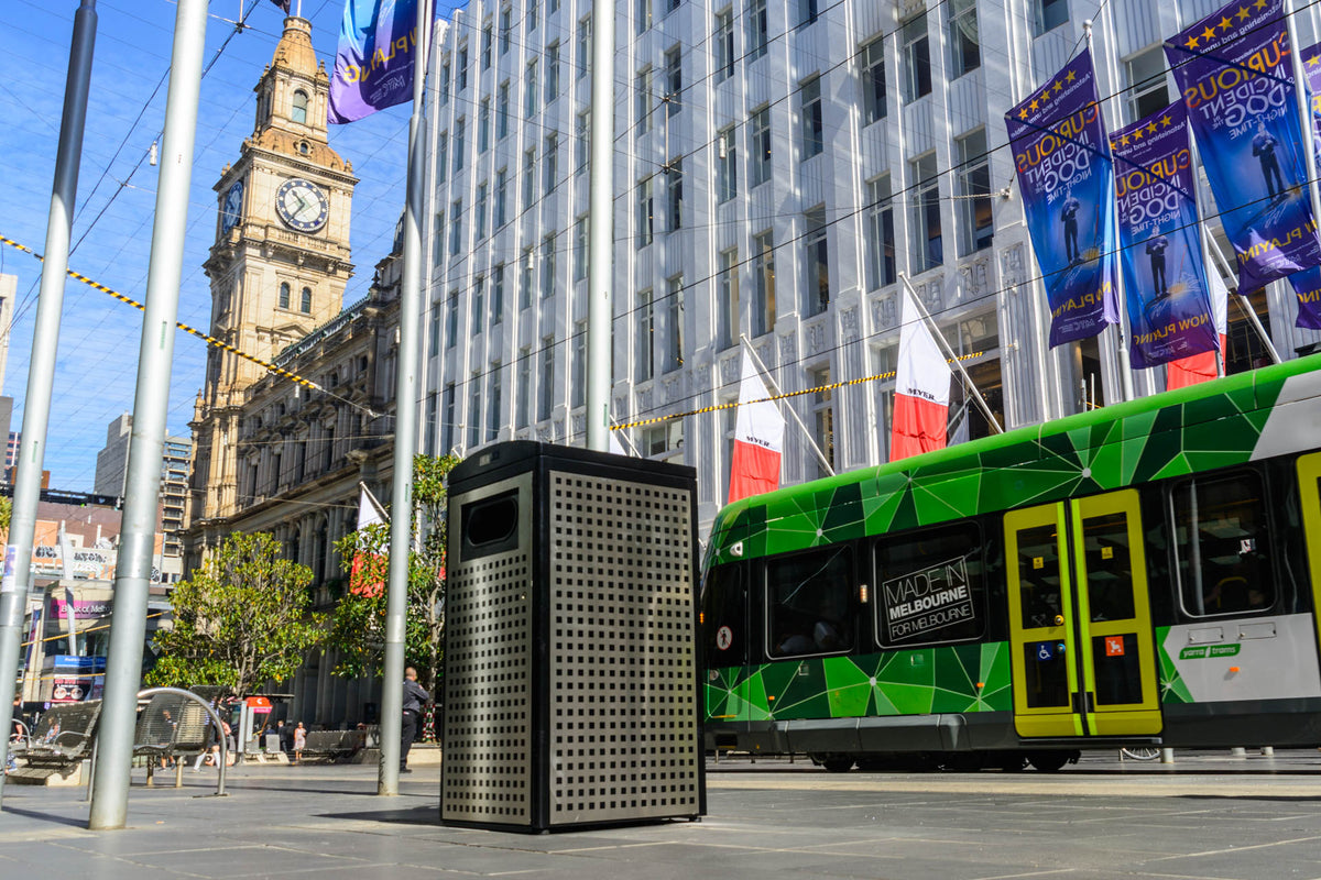 Clean Cube - Solar Powered Smart Waste Compactor Bins