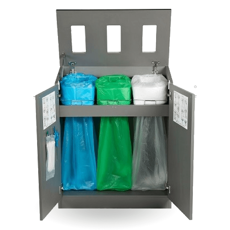 Longopac Multi Bay Mini Recycling Station