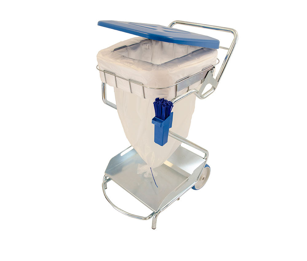 Longopac Maxi Pedal & Lid Waste Stand