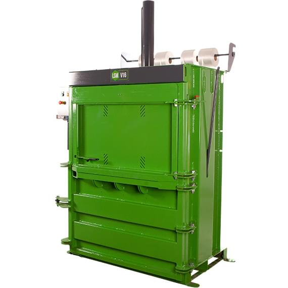 LSM V16 Mini Mill Size Baler