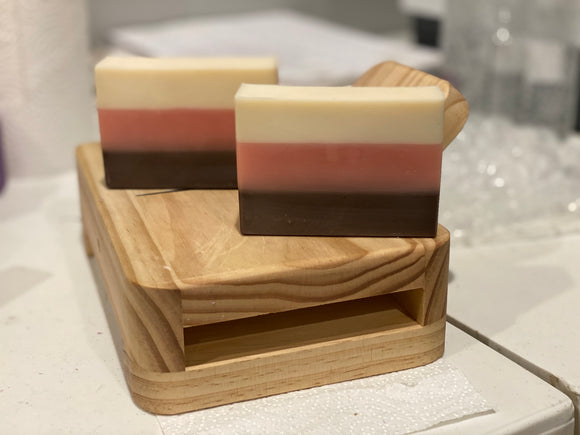Neapolitan Ice Cream Soap