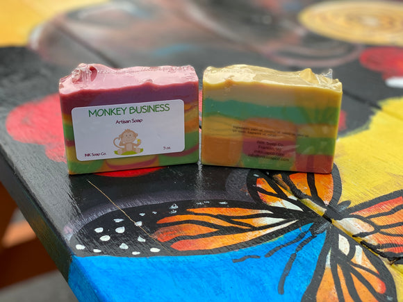 Monkey Business Soap