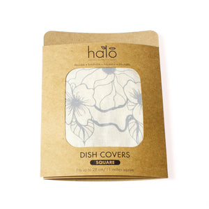 Halo Dish and Casserole Cover Square | Edible Flowers