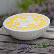 Load image into Gallery viewer, Halo Dish and Bowl Cover Large | Edible Flowers