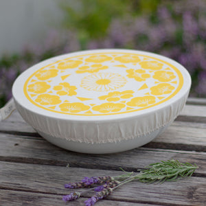Halo Dish and Bowl Cover Large | Edible Flowers