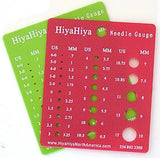 hiyahiya knitting needle gauge