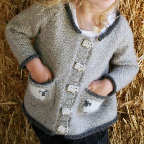 f97f075e59d Sheepish Cardigan Pattern - Never Not Knitting - Great Yarn Company