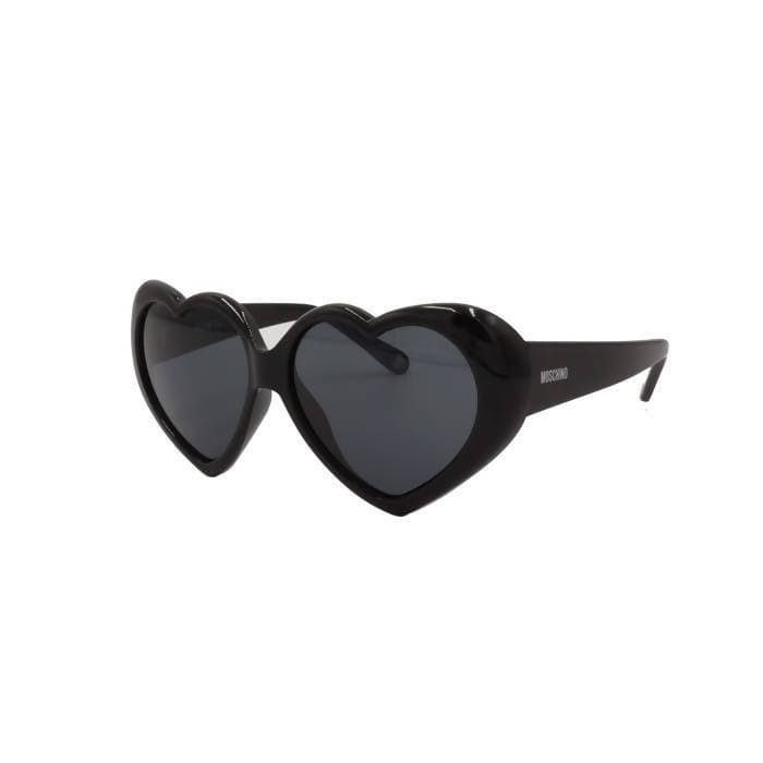 Pre-owned Moschino Heart-shaped Sunglasses