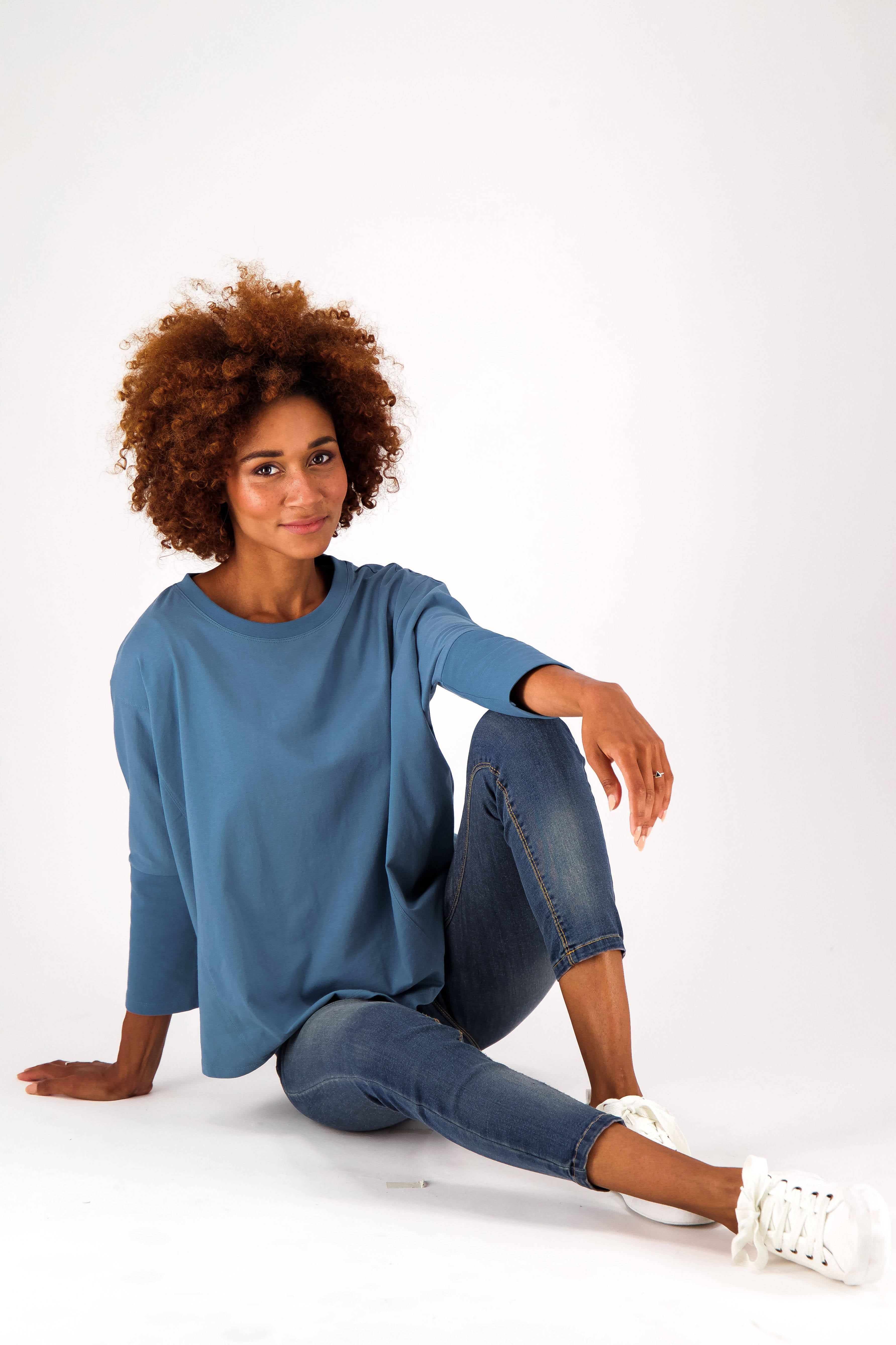 The Relaxed Fit Batwing Tee