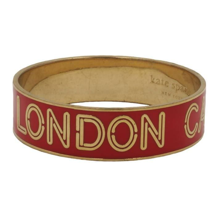 Pre-owned Kate Spade London Calling Bangle