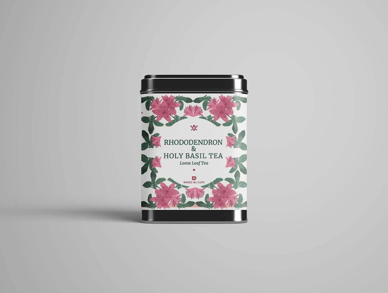 Rhododendron & Holy Basil Tea