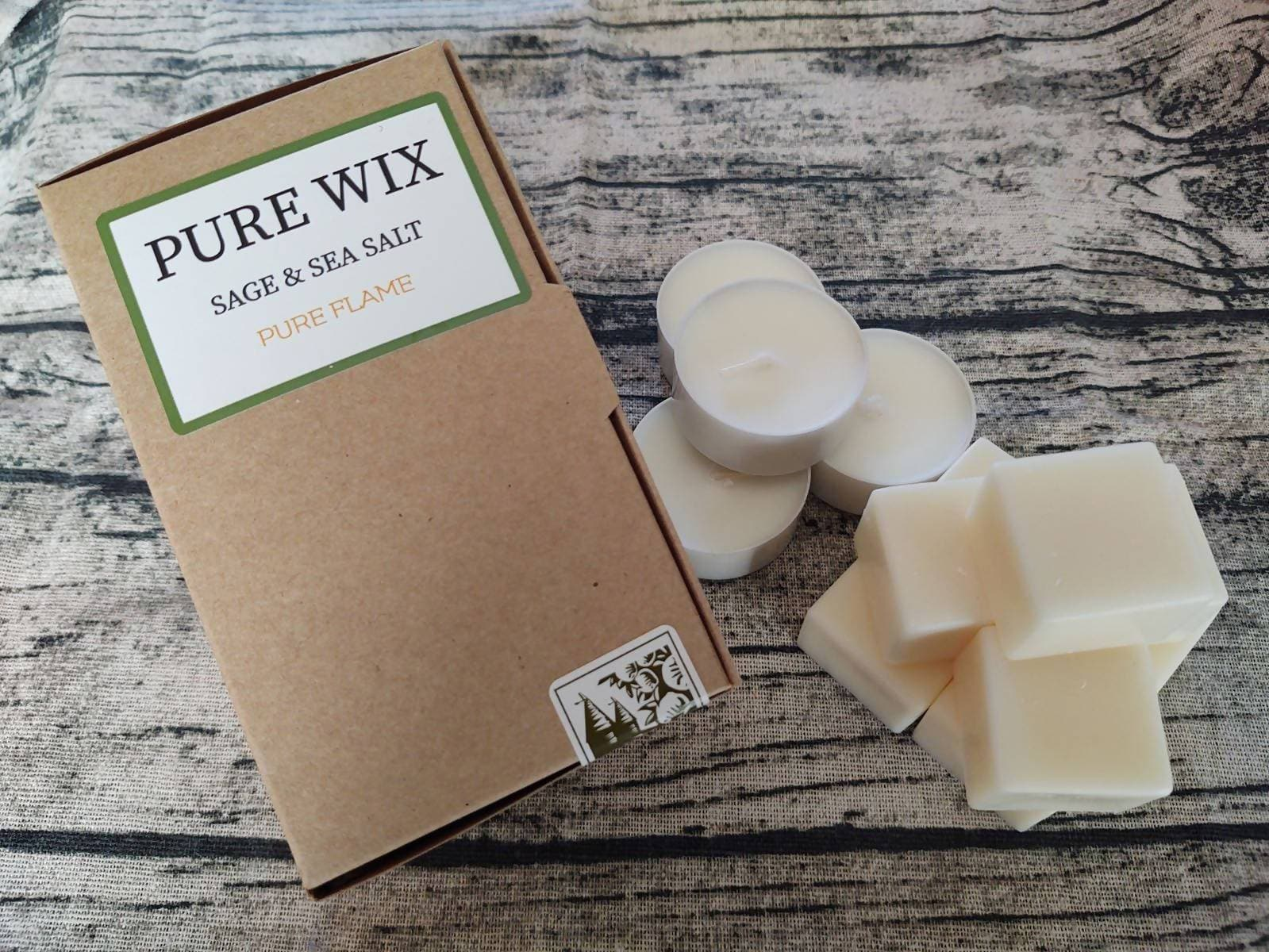 Eco Soy Wax Melts Sage & Sea salt