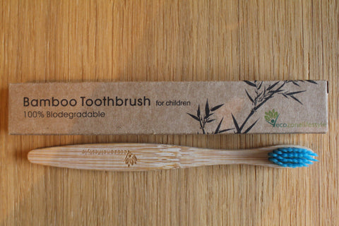 CHILDREN'S Bamboo Toothbrush With Soft Bristle – Choose Colours