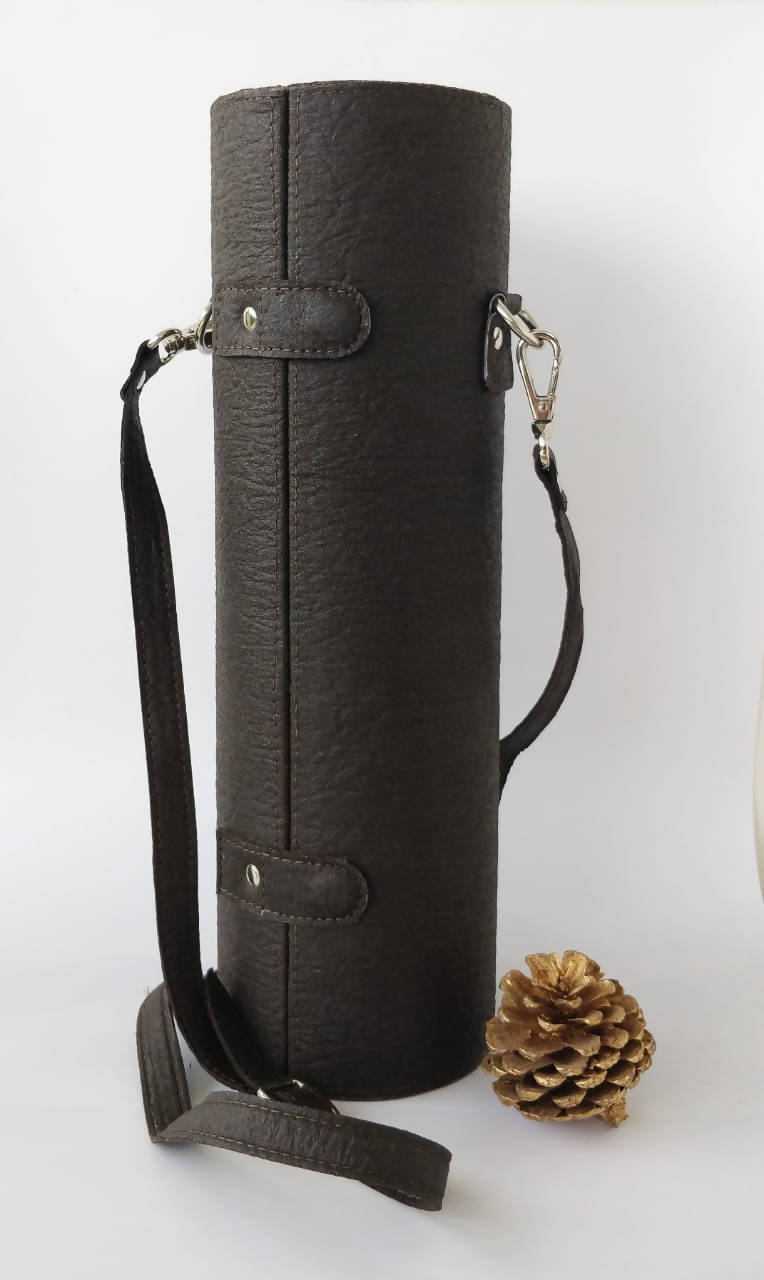 Bottle Case - Plant based Leather