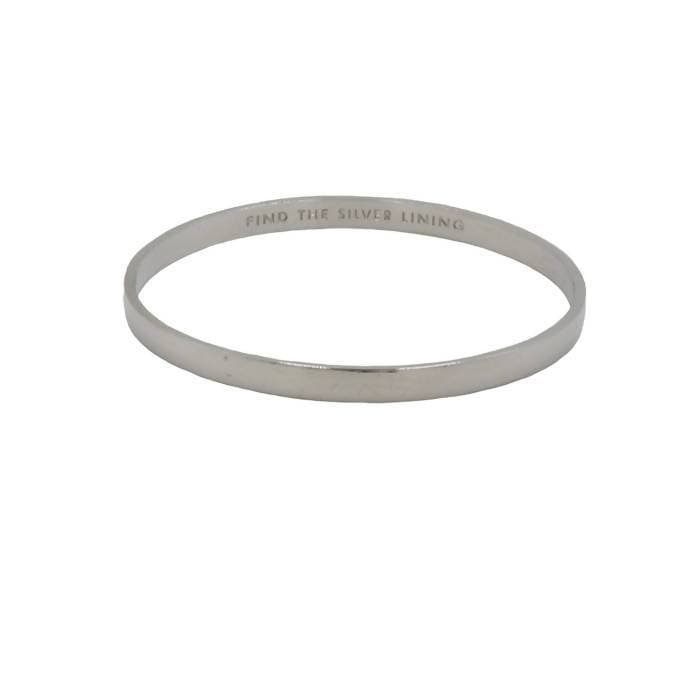 Pre-owned Kate Spade Silver Lining Bracelet