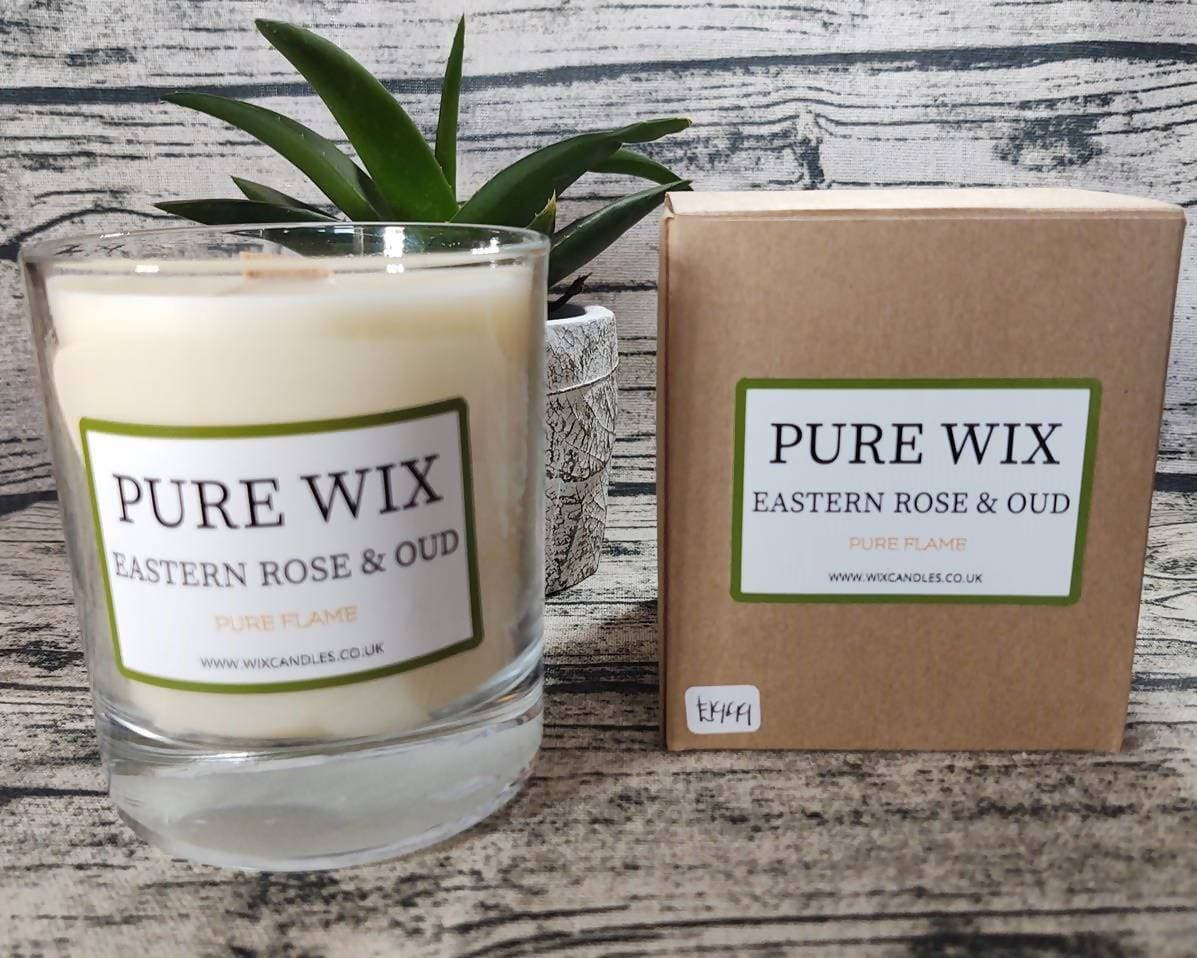 Large Eastern Rose & Oud Eco Soy Candle